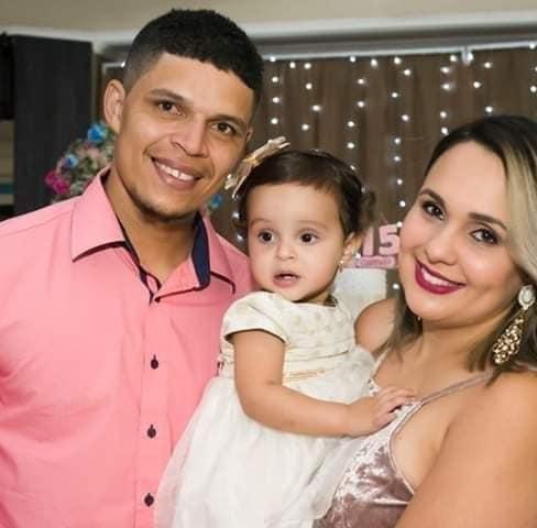 Família vítima fatal de acidente em Atalaia; Mauricio Moura, Ana Luiza e Bruna Soares