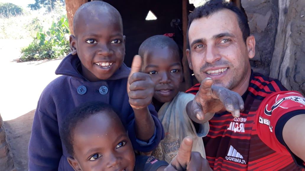 Missionário Edinaldo Soares em Missão em Moçambique